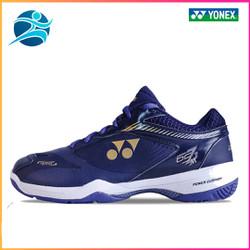Giày thể thao, giày cầu lông YONEX, dành cho nam, màu xanh sẫm, chơi được sân bê tông,chống trơn trượt, giày bóng chuyền