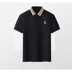 Áo thun nam Polo Áo phông nam nữ chất liệu cotton  thêu logo Gấu Full size  ac93 - Azila