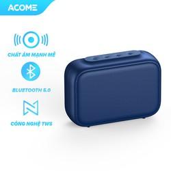 Loa Bluetooth ACOME A1 Công Suất 5W Hỗ Trợ TWS Ghép Đôi 2 Loa Âm Thanh Vòm Âm Bass Trầm Thiết Kế Nhỏ Gọn