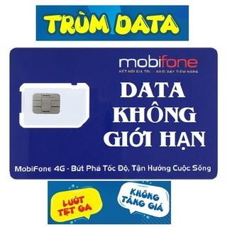 SIM TRÙM DATA FV99 - Đầu 09 TK 0Đ (SIM 4G MOBIFONE VPB51 2021 - KHÔNG GIỚI HẠN DUNG LƯỢNG, Tốc Độ Luôn Luôn Cao 2Mbs, 99.000đ tháng) - FV9909TK0 thumbnail
