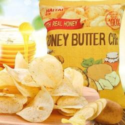 Snack Khoai tây HAITAI Honey butter chip