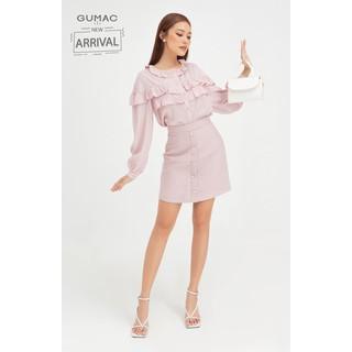 Chân váy gấm nẹp giả form cơ bản GUMAC VB408 - VB408 thumbnail
