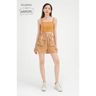 Quần short nữ phối túi hộp form cơ bản GUMAC QB427 - QB427 thumbnail
