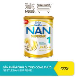 Sản phẩm dinh dưỡng công thức bổ sung 2HM-O Nestlé Nan Supreme 1 (400g)