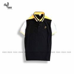 Áo polo nam cổ bẻ cotton mịn thêu logo cao cấp