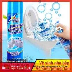 [FEE SHIP]Chai Xịt Bọt Tuyết Vệ Sinh Phòng Tắm Đa Năng Bathroom Cleaner 500ml