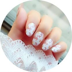 Móng tay giả có keo sẵn nail giả đẹp bộ 24 móng tay giả nhựa hot trend móng giả bộ móng tay giả KR-MT01