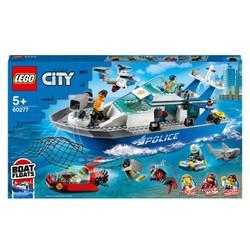 LEGO CITY 60277 Tàu Tuần Tra Cảnh Sát ( 276 Chi tiết)
