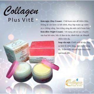 Bộ Kem Nám, Tàn Nhang Collagen Plus Vit E Indonesia - 0019 5