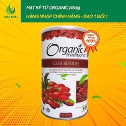 [SIÊU SALE] Kỷ Tử Khô Hữu Cơ Mỹ Organic - Hộp Đẹp 454g
