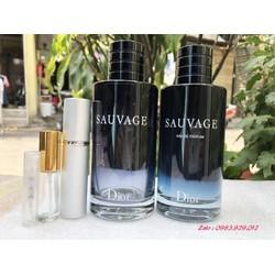[Chiết 2,5,10ml] Nước hoa Dior Sauvage for Men EDT/EDP