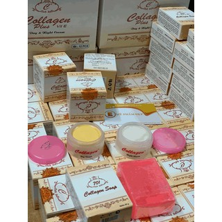 Bộ Kem Nám, Tàn Nhang Collagen Plus Vit E Indonesia - 0019 4