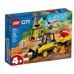 LEGO 60252 City - Máy Ủi Công Trình