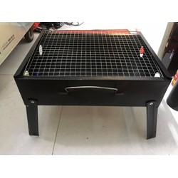 bếp nướng than gấp gọn kích thước 34x27cm, new 100%