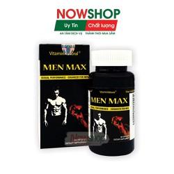 Viên uống tăng cường sinh lực, cải thiện, chống xuất tinh sớm, yếu sinh lý hiệu quả, Vitamin Natural Men Max