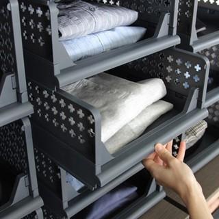 1 cái kệ nhựa trang trí- kệ đựng quần áo Hàn Quốc- Korean shelf - OSB-LP-SL0M- thumbnail