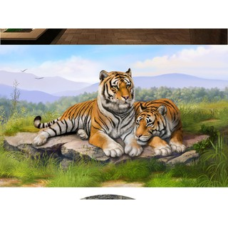 tranh hổ - tranh gạch 3d hổ phong thủy - 66SC [ĐƯỢC KIỂM HÀNG] 42232583 - 42232583 thumbnail