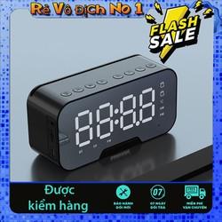 Loa bluetooth 3in1 loa bluetooth đồng hồ báo thức, nhiệt độ, loa âm thanh siêu hay, bass trầm ấm, pin trâu Có thể làm gương soi trang điểm tương thích với mọi hệ điều hành iOs android loa bluetooth mini gia re