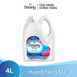 Nước Xả Vải Downy Nắng Mai Chai 4L (Dạng Chai) 4902430931953