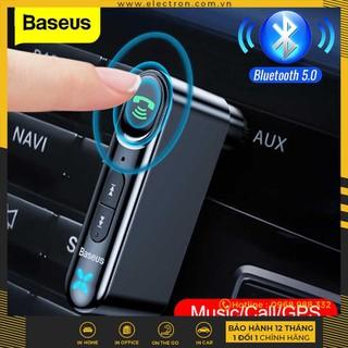 Bộ Bluetooth Receiver dùng cho xe hơi Baseus Qiyin AUX ( Car AUX 3.5mm Bluetooth Receiver Adapter) - 1463563456 thumbnail