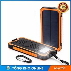 Pin sạc dự phòng năng lượng mặt trời đa năng 20000 mAh