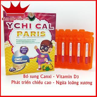 Canxi tăng chiều cao cho bé YCHI CAL-PARIS - Bổ sung canxi, vitamin D3, Vitamin K2 giúp phát triển xương, tăng chiều cao - 0050 thumbnail