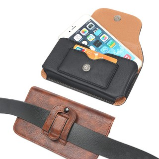 Bao da điện thoại đeo thắt lưng - Bao đeo hông kích thước 15 x 8 cm Mã B23 - Mã B23 thumbnail