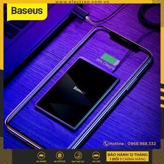 Đế sạc nhanh không dây siêu mỏng Baseus Card Ultra-thin Wireless Charger (15W, 0.3cm Portable Card Design, Qi Wireless ) - 1246546546 thumbnail