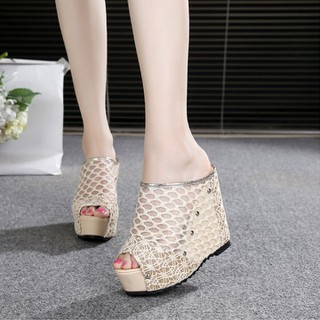 Giày dép sandal nữ đế cao 13cm X430-135 - X430-135 thumbnail
