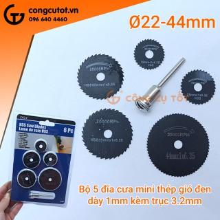 Bộ 5 đĩa cưa mini - 24004134 thumbnail