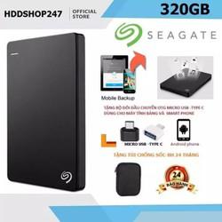 ổ cứng di động  SG Backup Plus Ultra Slim 320GB