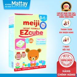Sữa meiji số 0 dạng thanh - Hộp 16 thanh x 27 gr - (0 - 1 tuổi).