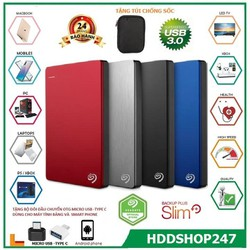 ổ cứng di động   SG Backup Plus Ultra Slim 500gb