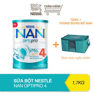 [Tặng thùng đựng đồ NAN] Sữa bột bổ sung HMO Nestlé Nan Optipro 4 cho trẻ trên 2 tuổi (1.7kg) - TUNAN0007CB thumbnail
