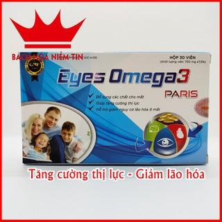 Viên uống Eyes O-mega3 Paris Dầu gấc, Dầu cá - giúp tăng cường thị lực, giảm nguy cơ lão hóa ở mắt - Hộp 30 viên - 0061 thumbnail