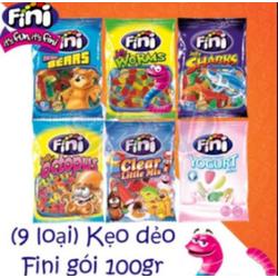 Đồng giá - Kẹo Dẻo FINI 100g Nhập Khẩu Tây Ban Nha