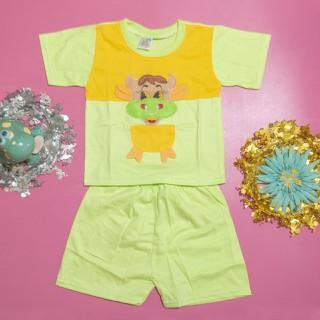 Đồ bộ trẻ sơ sinh TiTi con trâu tay ngắn (5 màu) - DOBO001 thumbnail