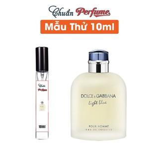 [Chiết 10ml] Nước Hoa Nam Dolce & Gabbana Light Blue Pour Homme - Chuẩn Perfume - DG-Light-Blue-EDT-For-Men-10ml thumbnail