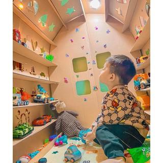 Bộ nhà đồ chơi lắp ghép - Nhà lắp ghép cho bé thumbnail