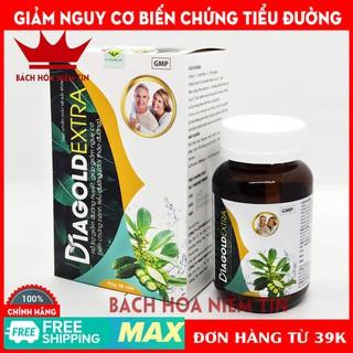 Viên uống DIAGOLD EXTRA - giảm đường huyết, giảm nguy cơ biến chứng tiểu đường - Thành phần dây thìa canh, khổ qua - 0083 thumbnail