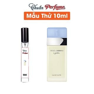 [Chiết 10ml] Nước Hoa Nữ Dolce & Gabbana Light Blue For Women EDT - Chuẩn Perfume - DG-Light-Blue-For-Women-EDT-10ml thumbnail