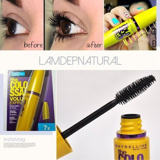 Combo 2 Mascara Colossal Volum Express Waterproof 7x - CB2MCR thumbnail