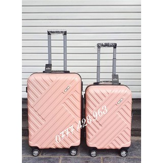(Rẻ Vô Địch ) bộ vali du lịch size 20+24 hàng cao cấp ( bảo hành 5 năm ) - 001 thumbnail