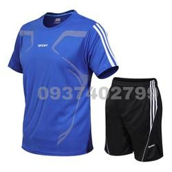 Bộ đồ thể thao nam, bộ đồ tập gym Bộ thể thao
