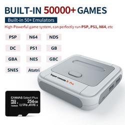 Máy Chơi Game Super Console X 50000+Trò 50 Hệ Game Hỗ trợ 4 Người Chơi HDMI 4K Kết Nối WiFi Retro PSP / PS1 / N64 / DC