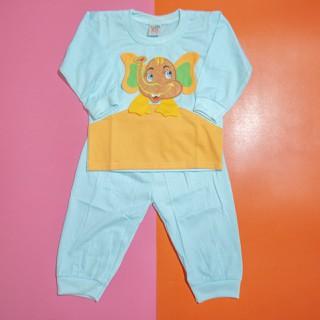 Đồ bộ trẻ sơ sinh TiTi hình voi lớn (5 màu) - DOBO006 thumbnail
