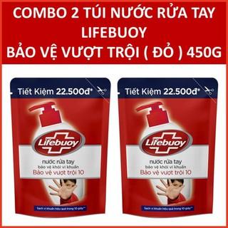 Nước rửa tay Lifebuoy chăm sóc da túi tiết kiệm 450g - LIFEBOUY2 thumbnail