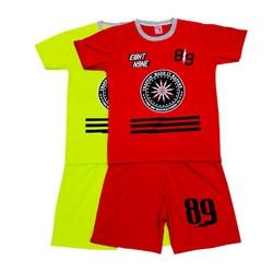 set 2 bộ đồ thể thao dành cho bé trai và bé gái, trang phục vui chơi ngoài trời cho cả bé trai và bé gái, thời trang ngoài trời cho bé từ 15-34kg- 2 màu
