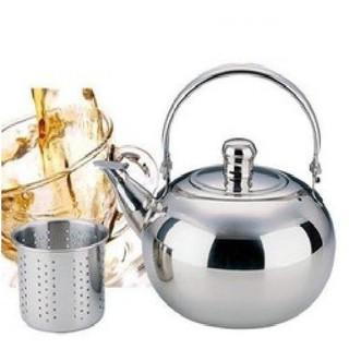 Bình pha trà - cà phê inox có lưới lọc dung tích 600ml - LỌC TRÀ - gre ry thumbnail