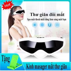 Kính Massager mắt ,nhỏ gọn , tiện lợi, cơ chế đa năng giúp bạn có những phút giây thư giãn thoải mái, hiệu quả - kèm quà tặng hấp dẫn